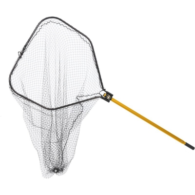 "Подсак FRABILL 1.5"" Black Tangle-Free Knotless Mesh Netting Power Stow™ Net, складной"